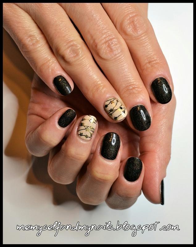 Stardust nail art by ELIZA OK-W