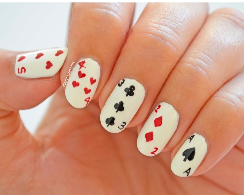 Vegas Nails nail art by NailsContext - Nailpolis: Museum of Nail Art