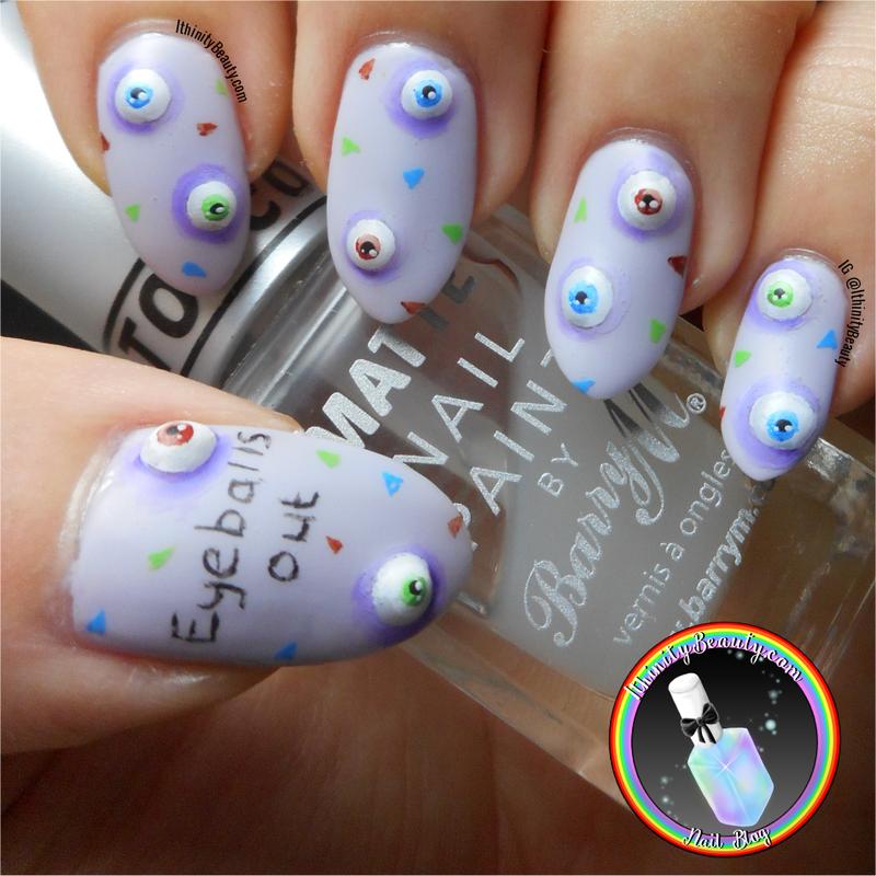 Eyeballs Out!  nail art by Ithfifi Williams
