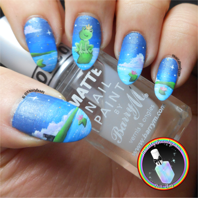 The Frog Prince nail art by Ithfifi Williams