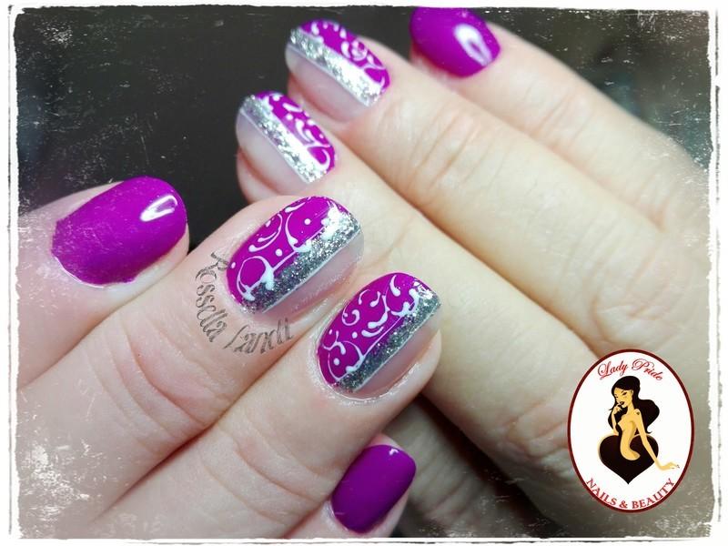 Skyline nail art by Rossella Landi