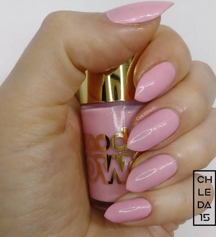 "Models Own NP223 ""Diamond Luxe Princess Pink"" Swatch by chleda15"