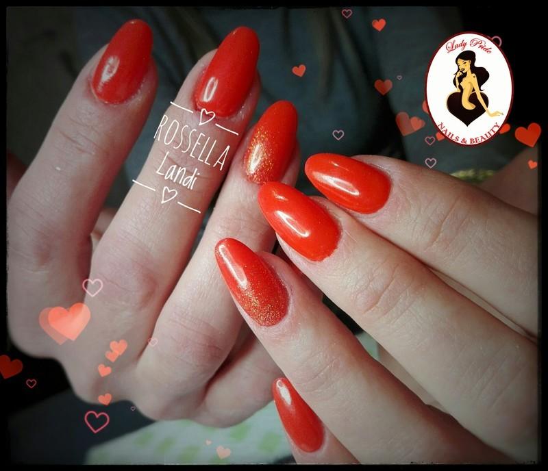 Corallo nail art by Rossella Landi