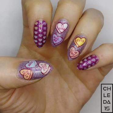 2018 #6 nail art by chleda15