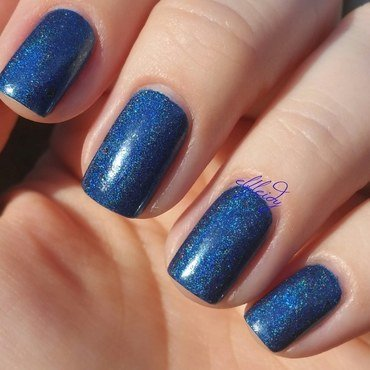 KBShimmer Navy or Not, Here I Come Swatch by Jenette Maitland-Tomblin