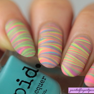 Pastel neon water marble thumb370f