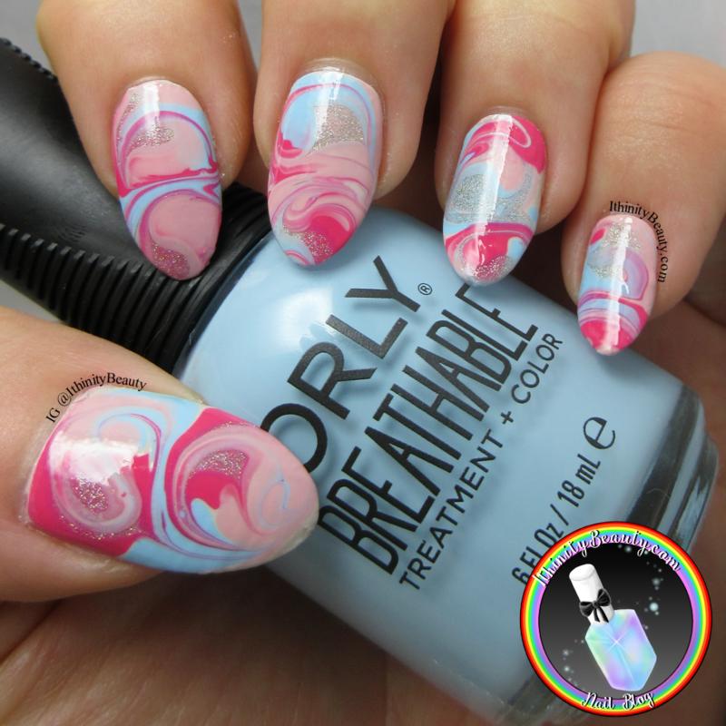 Orly Swirls nail art by Ithfifi Williams