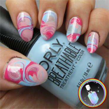 Orly Swirls nail art by Ithfifi Williams