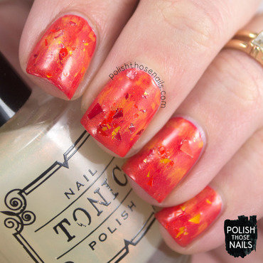 Phoenix fawkes harry potter mythical creature nail art 4 thumb370f
