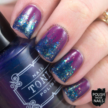 Blue glitter purple ruffian occamy nail art 4 thumb370f