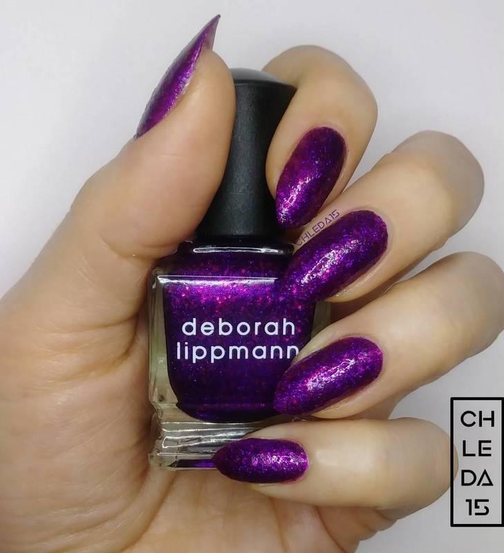"Deborah Lippmann 20116 ""Flash Dance"" Swatch by chleda15"