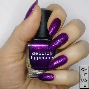 "Deborah Lippmann 20116 ""Flash Dance"" Swatch by chleda15"
