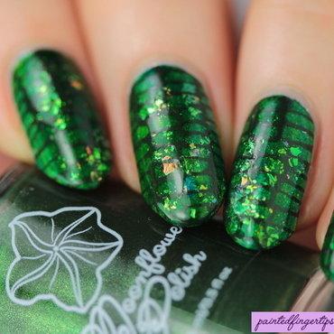 Basilisk nails nail art by Kerry_Fingertips