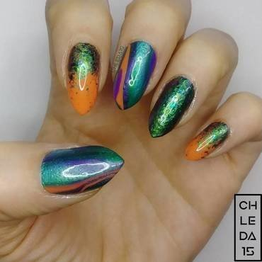 2018 #9 nail art by chleda15