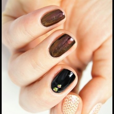 Keep warm nail art by ELIZA OK-W