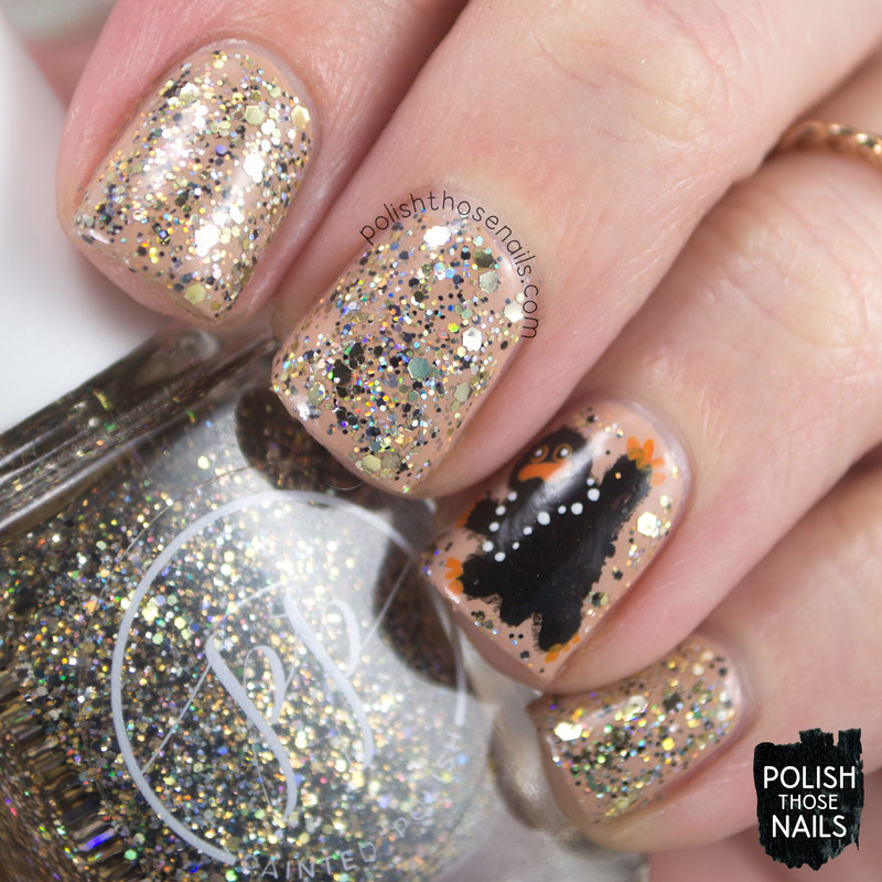 Snifflin\' Nifflin\' nail art by Marisa Cavanaugh - Nailpolis: Museum ...
