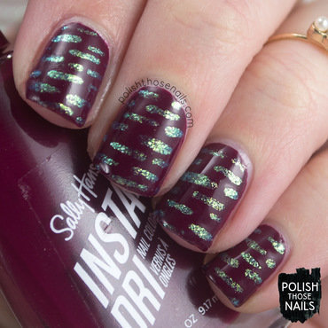Always Day Whining With Wine nail art by Marisa  Cavanaugh