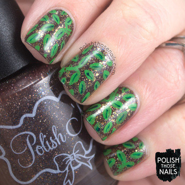 Bowtrucklin' Around nail art by Marisa  Cavanaugh