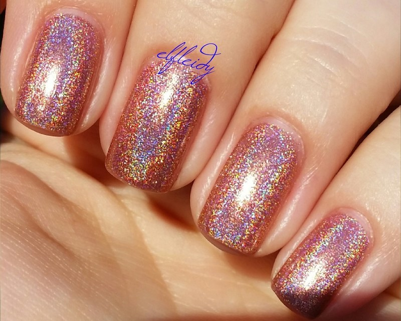 KBShimmer Stop and Smell the Rosé Swatch by Jenette Maitland-Tomblin