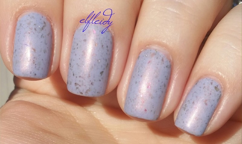 Wet 'n wild Matte Top Coat and Potion Polish Transient Swatch by Jenette Maitland-Tomblin