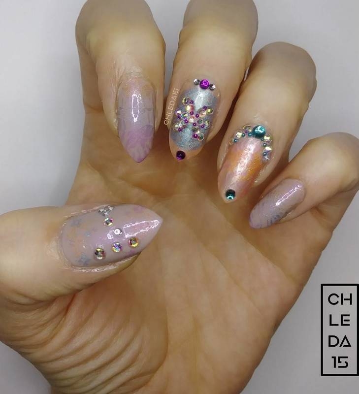 2018 #11 nail art by chleda15
