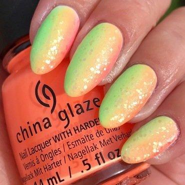 Rainbow Trout nail art by JMura_Designs