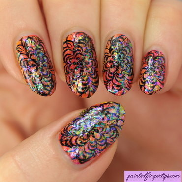 Neon crazy stamping thumb370f