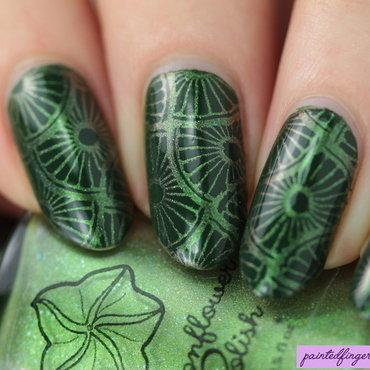 Tortuga green stamping polish thumb370f