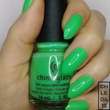 "China Glaze 1402/82608 ""Treble Maker"" Swatch by chleda15"