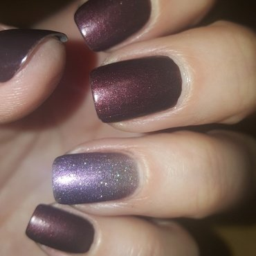 Catrice 3 Violet for Victor matte and cliché VIP Swatch by Katarinna