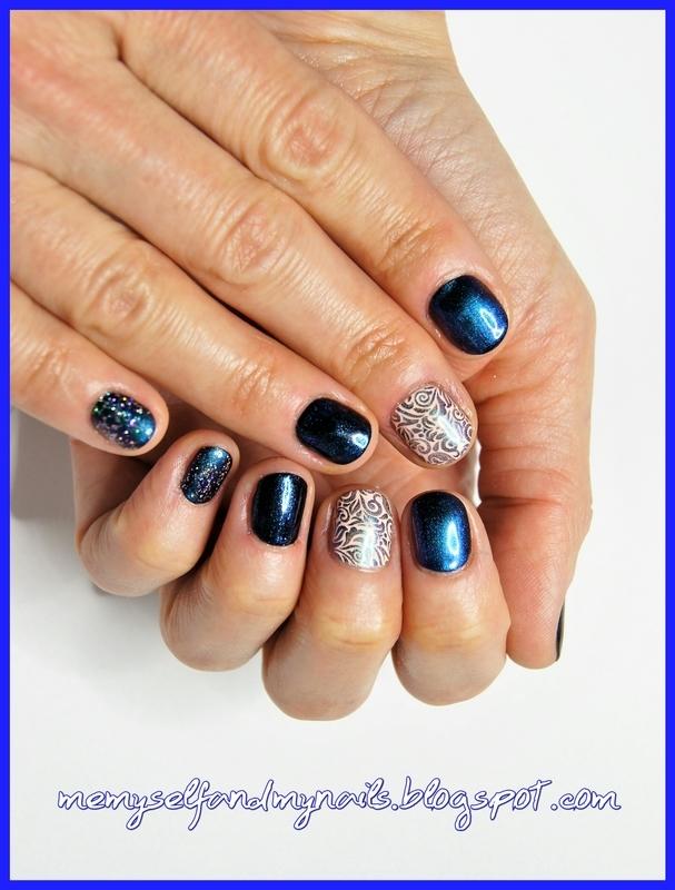 Arabesque nail art by ELIZA OK-W