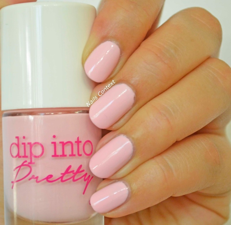 Dip Into Pretty On Pointe Swatch by NailsContext
