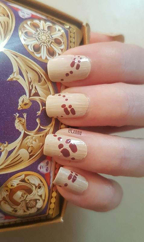 Scarhead? nail art by Lxnne