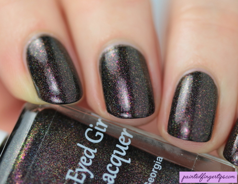 Blue-Eyed Girl Lacquer How Sweet It Is Swatch by Kerry_Fingertips