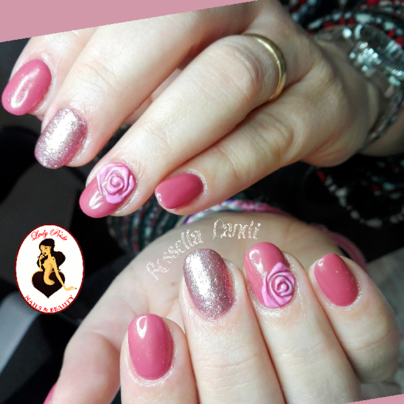 Prague nail art by Rossella Landi