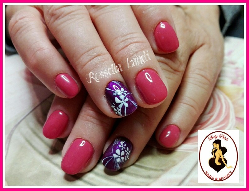 Prague1 nail art by Rossella Landi