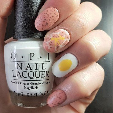 Easter nails: eggs! nail art by Emmelie Slotboom