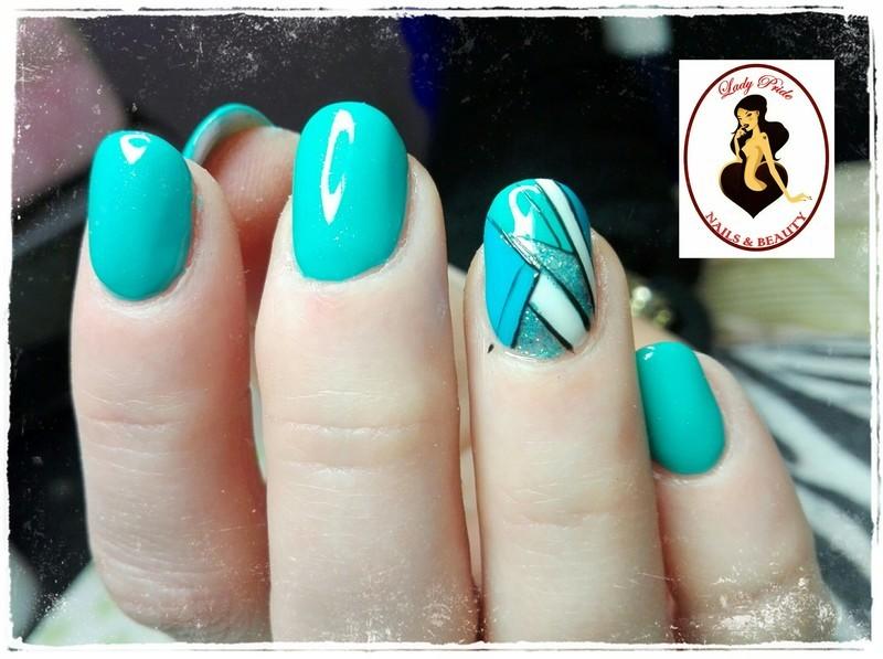 Miami3 nail art by Rossella Landi