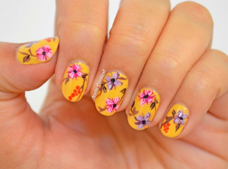 Life in Full Bloom nail art by NailsContext