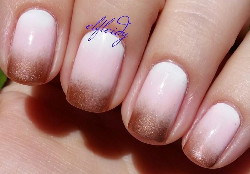 Sweet gradient nail art by Jenette Maitland-Tomblin