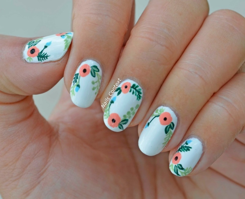 Bloom  nail art by NailsContext