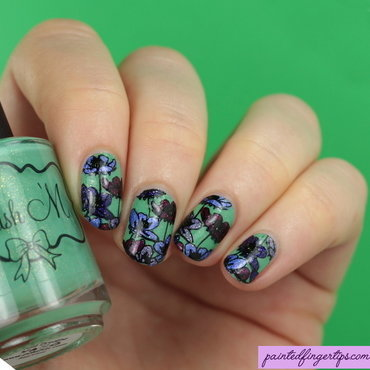 Spring Floral  nail art by Kerry_Fingertips