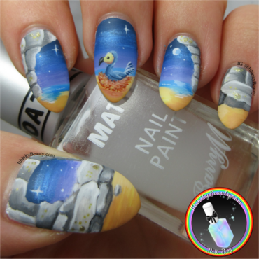 Dodo Island nail art by Ithfifi Williams