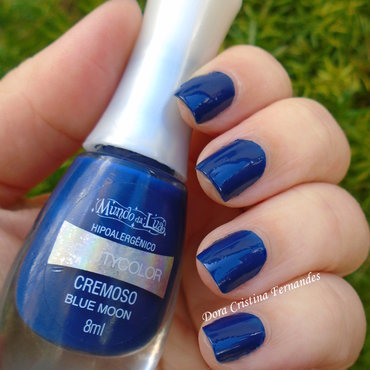 Beauty Color Blue Moon Swatch by Dora Cristina Fernandes