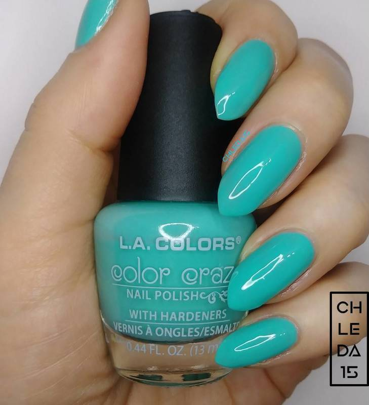 """L.A. Colors CNP51 """"Weekend Escape"""" Swatch by chleda15"""