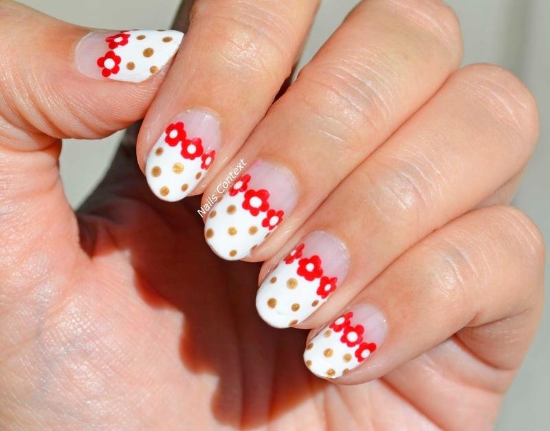 Spring Time nail art by NailsContext