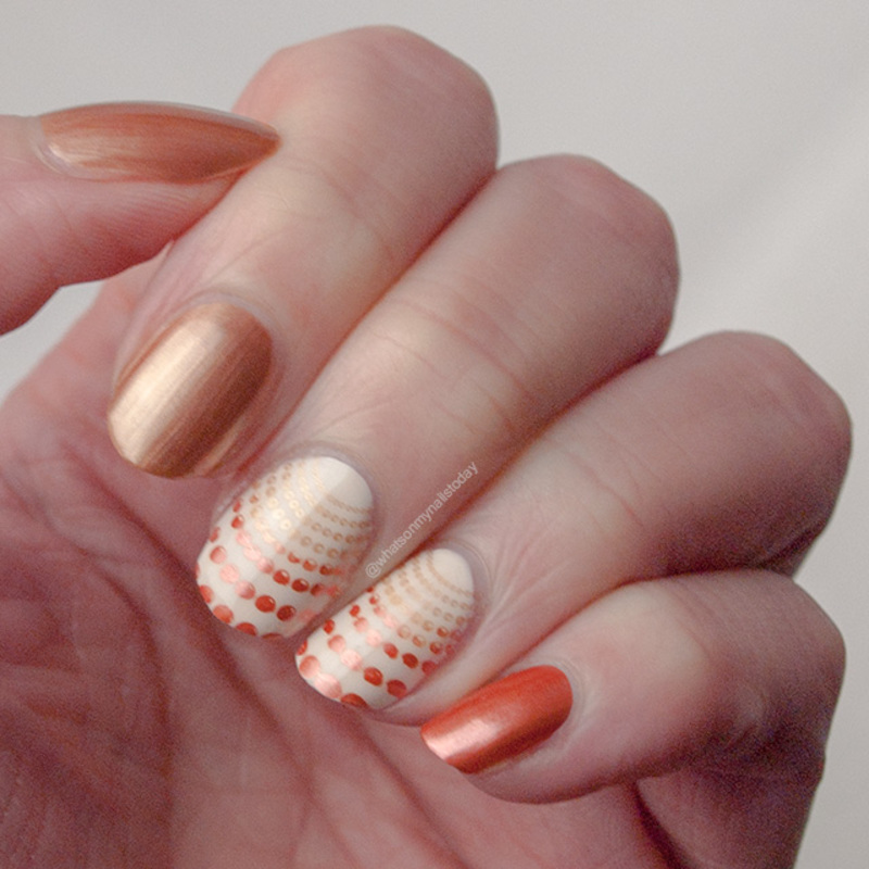 #52weeknailchallenge - week 14: Autumn nail art by What's on my nails today?