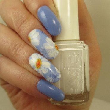 Sailing nail art by NinaB