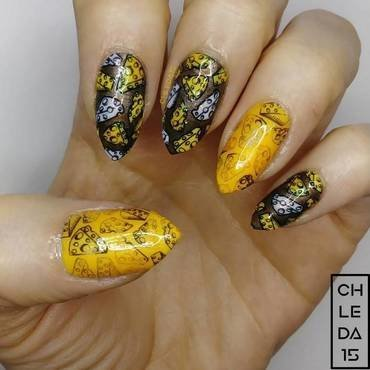 2018 #16 nail art by chleda15