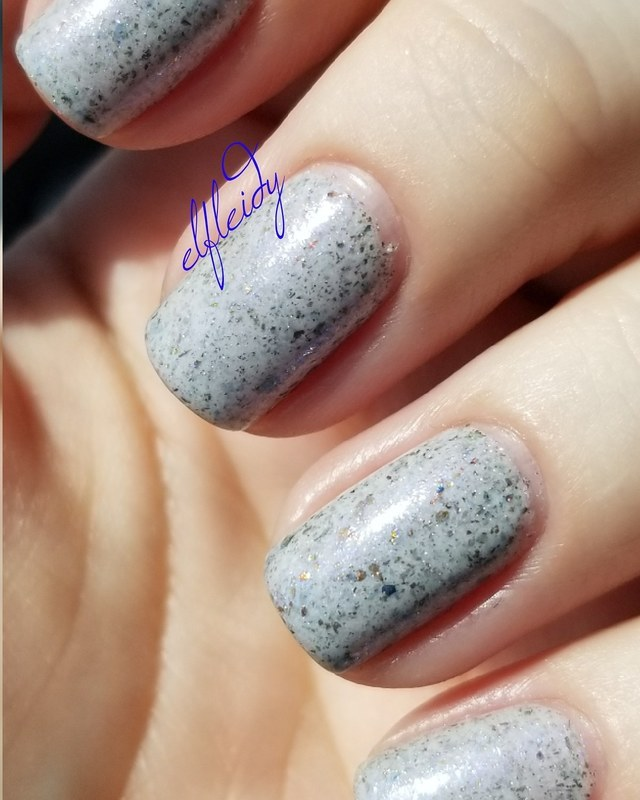 Great Lakes Lacquer When All Other Lights Go Out Swatch by Jenette Maitland-Tomblin